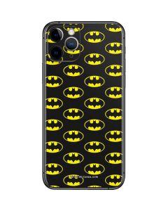 Batman Logo All Over Print iPhone 11 Pro Skin