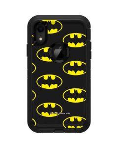 Batman Logo All Over Print Otterbox Defender iPhone Skin