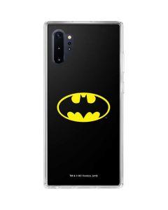 Batman Official Logo Galaxy Note 10 Plus Clear Case