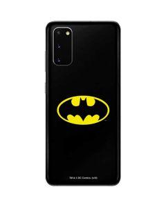 Batman Official Logo Galaxy S20 Skin