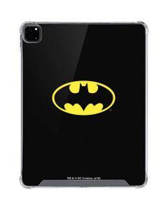 Batman Official Logo iPad Pro 12.9in (2020) Clear Case