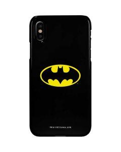 Batman Official Logo iPhone XS Max Lite Case
