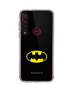 Batman Official Logo Moto G8 Plus Clear Case