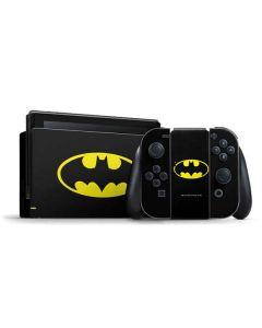 Batman Official Logo Nintendo Switch Bundle Skin