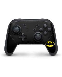 Batman Official Logo Nintendo Switch Pro Controller Skin