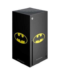 Batman Official Logo Xbox Series X Console Skin