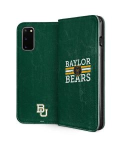 Baylor Bears Bold Galaxy S20 Folio Case