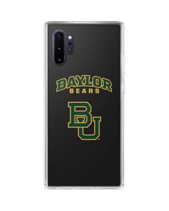 Baylor Bears BU Galaxy Note 10 Plus Clear Case