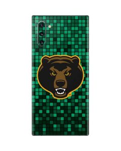 Baylor Bears Checkered Galaxy Note 10 Skin