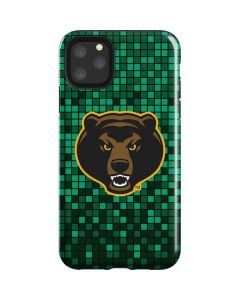 Baylor Bears Checkered iPhone 11 Pro Max Impact Case