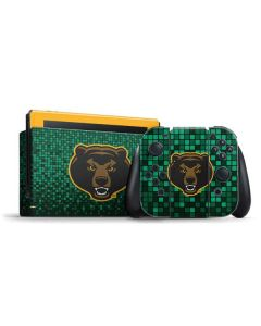 Baylor Bears Checkered Nintendo Switch Bundle Skin