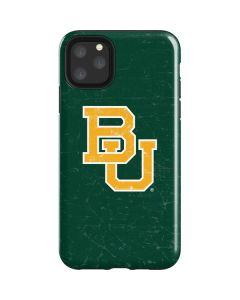 Baylor Bears Distressed iPhone 11 Pro Max Impact Case