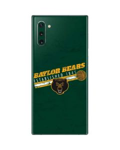 Baylor Bears Est 1845 Galaxy Note 10 Skin