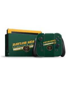 Baylor Bears Est 1845 Nintendo Switch Bundle Skin