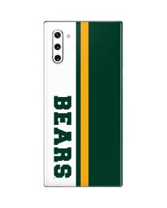Baylor Bears Galaxy Note 10 Skin