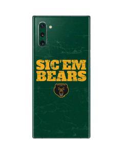Baylor Bears Sic Em Galaxy Note 10 Skin