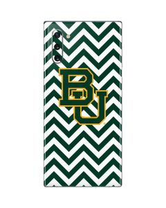 Baylor Chevron Print Galaxy Note 10 Skin