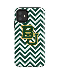 Baylor Chevron Print iPhone 11 Impact Case
