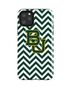Baylor Chevron Print iPhone 11 Pro Max Impact Case