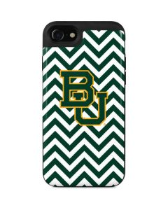 Baylor Chevron Print iPhone SE Wallet Case