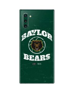 Baylor Faded Basketball Galaxy Note 10 Skin