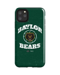 Baylor Faded Basketball iPhone 11 Pro Max Impact Case