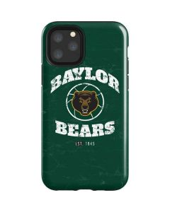 Baylor Faded Basketball iPhone 11 Pro Impact Case
