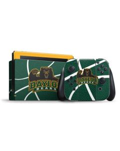 Baylor Green Basketball Nintendo Switch Bundle Skin
