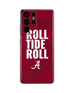 Alabama Roll Tide Roll Galaxy S21 Ultra 5G Skin