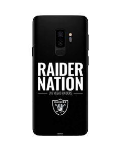 Las Vegas Raiders Team Motto Galaxy S9 Plus Skin