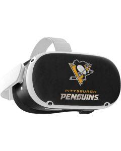 Pittsburgh Penguins Distressed Oculus Quest 2 Skin