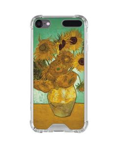 Sunflowers 1888 iPod Touch (5th-6th-7th Gen) Clear Case