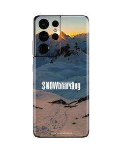 TransWorld SNOWboarding Shadows Galaxy S21 Ultra 5G Skin