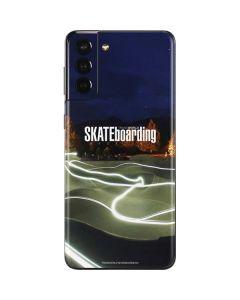 TransWorld Luminescent Skate Park Lights Galaxy S21 Plus 5G Skin