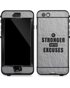 Be Stronger Than Your Excuses LifeProof Nuud iPhone Skin