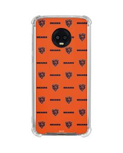 Chicago Bears Blitz Series Moto G6 Clear Case