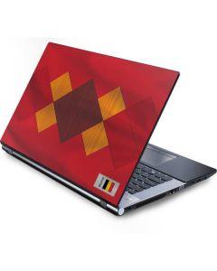 Belgium Soccer Flag Generic Laptop Skin