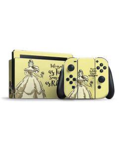 Belle Tale As Old As Time Nintendo Switch Bundle Skin