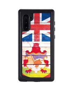 Bermuda Flag Light Wood Galaxy Note 10 Waterproof Case
