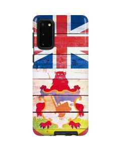 Bermuda Flag Light Wood Galaxy S20 Pro Case