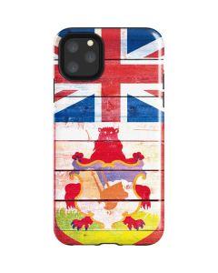 Bermuda Flag Light Wood iPhone 11 Pro Max Impact Case