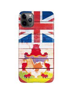 Bermuda Flag Light Wood iPhone 11 Pro Max Lite Case