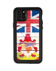 Bermuda Flag Light Wood iPhone 11 Pro Max Waterproof Case