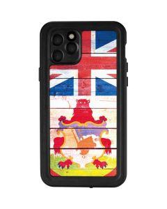 Bermuda Flag Light Wood iPhone 11 Pro Waterproof Case