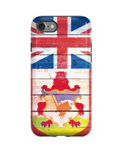 Bermuda Flag Light Wood iPhone SE Pro Case