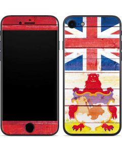 Bermuda Flag Light Wood iPhone SE Skin