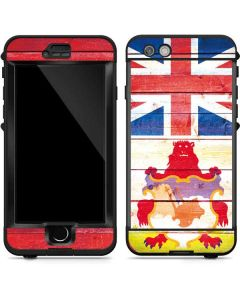 Bermuda Flag Light Wood LifeProof Nuud iPhone Skin