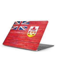 Bermuda Flag Light Wood Apple MacBook Pro 16-inch Skin