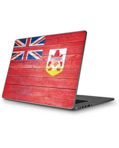 Bermuda Flag Light Wood Apple MacBook Pro 17-inch Skin