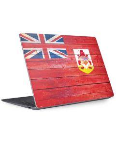 Bermuda Flag Light Wood Surface Laptop 3 13.5in Skin